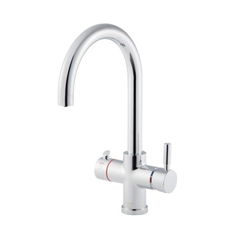 Clearwater Maestro 3 in 1 Instant Hot Water Kitchen Sink Mixer Tap with Boiler Unit & Filter - Chrome