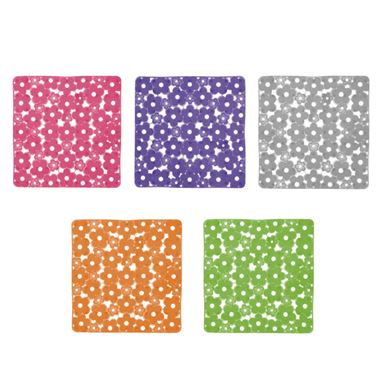 Gedy Margherita Non-Slip Bath Mat - 5 Colour Choices