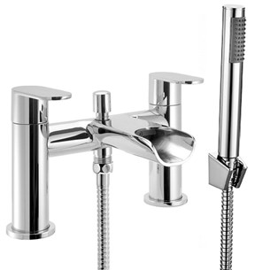 Bath And Shower Taps waterfall taps - basin & bath waterfall mixers | tap warehouse