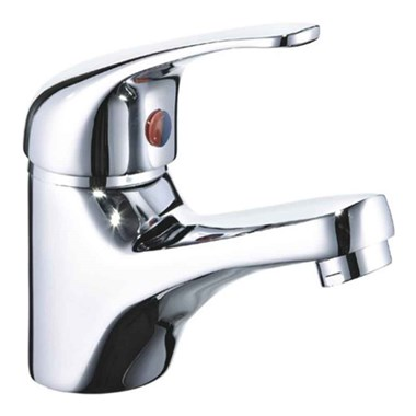 Mayfair Titan Single Lever Mono Basin Mixer with Clicker Waste