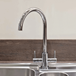 Mayfair Vibe Kitchen Mono Mixer Tap - Chrome