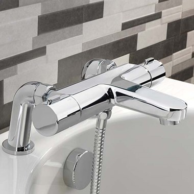 Sagittarius Messina Thermostatic Bath Shower Mixer