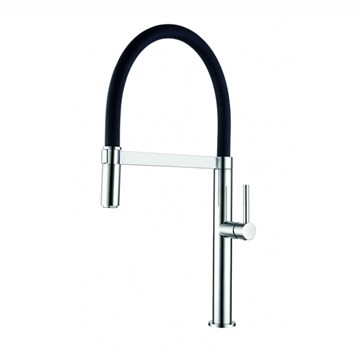 Clearwater Meridian Twin Flow Single Lever Mono Kitchen Tap with Detachable Spout
