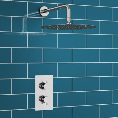 Drench Melanie Concealed Shower Valve & Fixed Shower Head