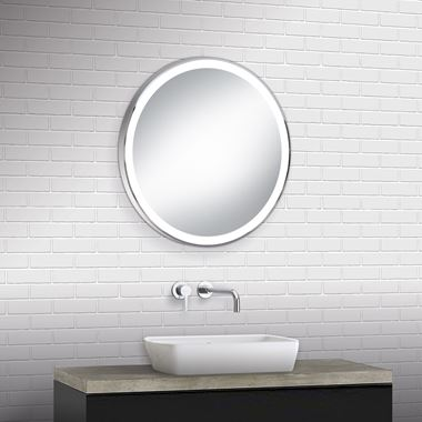 Bathroom Origins Meridian Framed Backlit LED Mirror