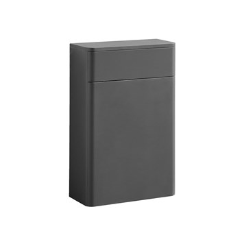 Harbour Glow 500mm Back to Wall Toilet Unit - Warm Matt Grey