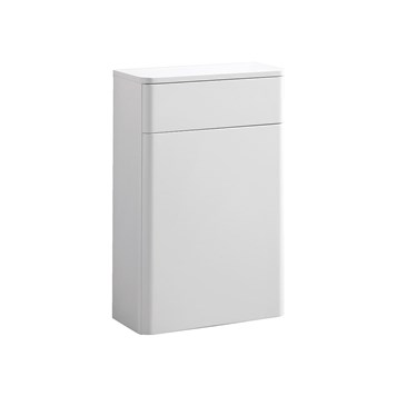 Harbour Glow 500mm Back to Wall Toilet Unit - Matt White
