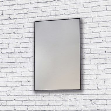 Bathroom Origins Metro Mirror - Black
