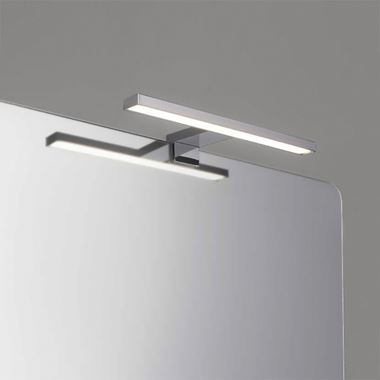 Bathroom Origins Metro Wall/Mirror Light - Polished Steel