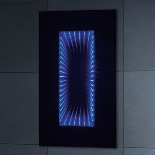 Phoenix Infiniti Motion Sensitive LED Mirror with Shaver Socket - 900 x 500mm