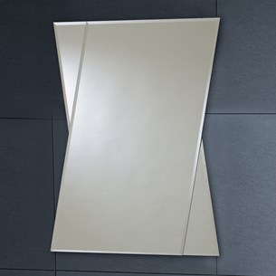 Phoenix Non Illuminated Bevelled Edge Mirror - 800 x 600mm