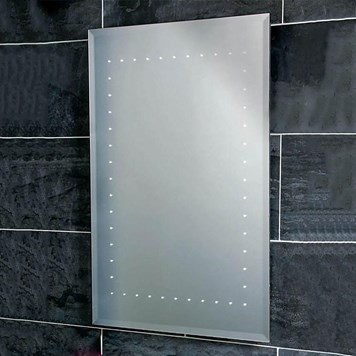 Phoenix Solar 50 Motion Sensitive LED Mirror with Demister Pad and Shaver Socket - 700 x 500mm