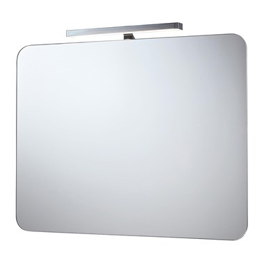 Phoenix Taurus 70 Motion Sensitive LED Downlight Mirror with Demister Pad and Shaver Socket - 700 x 500mm