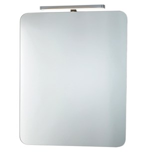 Phoenix Taurus 80 Motion Sensitive LED Downlight Mirror with Demister Pad and Shaver Socket - 800 x 600mm