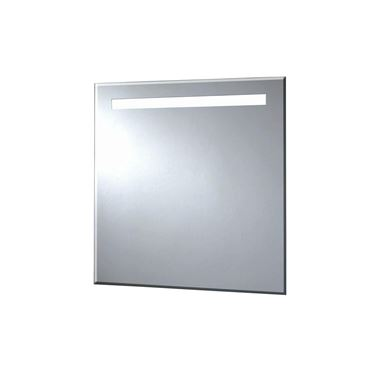 Phoenix Pluto 60 Motion Sensitive LED Mirror with Demister Pad and Shaver Socket - 600 x 600mm
