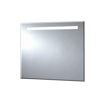 Phoenix Pluto 90 Motion Sensitive LED Mirror with Demister Pad and Shaver Socket - 600 x 900mm