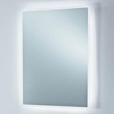 Phoenix Play Motion Sensitive LED Bluetooth Music Mirror with Demsiter Pad & Shaver Socket - 750 x 550mm