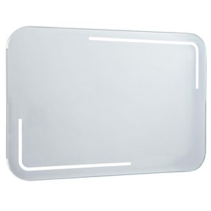 Phoenix Enzo 75 Motion Sensitive LED Mirror with Demister Pad and Shaver Socket - 550 x 750mm