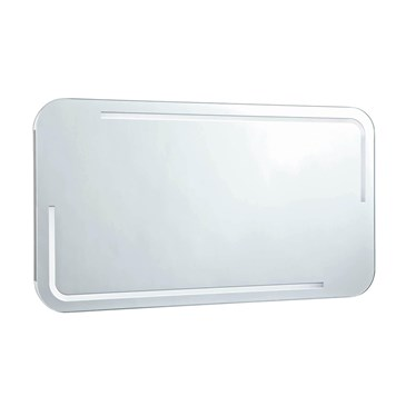 Phoenix Enzo 100 Motion Sensitive LED Mirror with Demister Pad and Shaver Socket - 550 x 1000mm