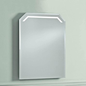Phoenix Victoriana Motion Sensitive LED Mirror with Demister Pad and Shaver Socket - 750 x 550mm