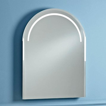 Phoenix Balmoral Motion Sensitive LED Mirror with Demister Pad and Shaver Socket - 750 x 550mm
