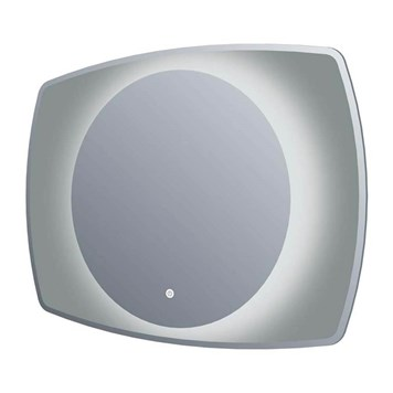 Harbour Scene LED Illuminated Mirror with Glass Surround - 800mm & 1000mm