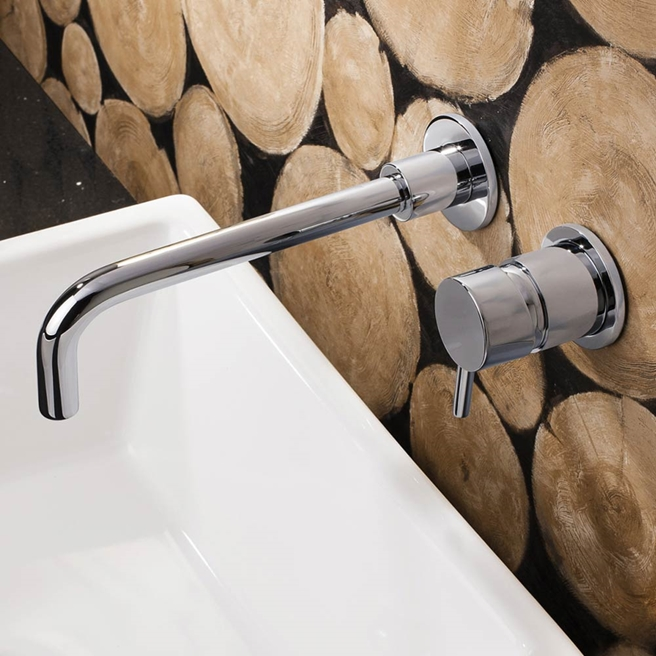 Crosswater MPRO Wall Mounted Basin Mixer & Spout