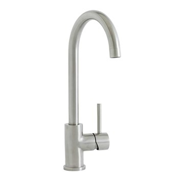 Mayfair Milan Mono Kitchen Mixer - Brushed Nickel