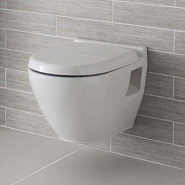 Dominica Wall Hung Toilet with Soft Close Seat