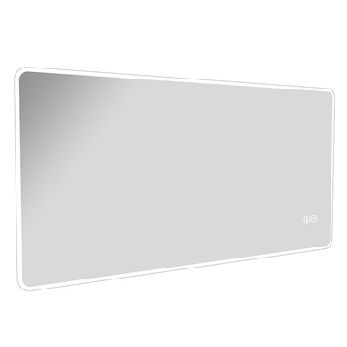 Vellamo LED Mirror with Touch Sensor, Demister & Bluetooth - 1200 x 600mm