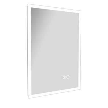 Vellamo LED Mirror with Touch Sensor, Demister & Bluetooth - 500 x 700mm