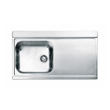 Clearwater Mirage Single Bowl Satin Finish Sink with Waste