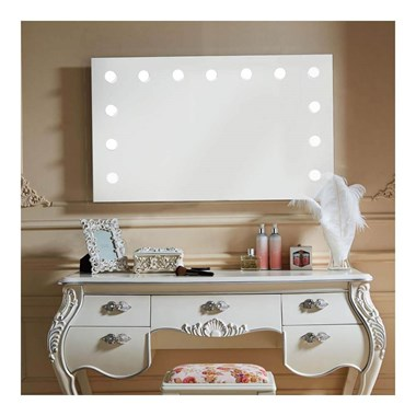 Drench Marilyn Hollywood LED Mirror with Demister Pad & Dimmer Switch - 800mm & 1200mm