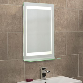 Roper Rhodes Gamma Backlit Mirror with Shaver Socket