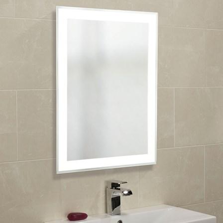 Roper Rhodes Status Backlit Mirror With Shaver Socket 800 X 600mm