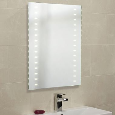 Roper Rhodes Pulse Plus LED Illuminated Mirror with Shaver Socket