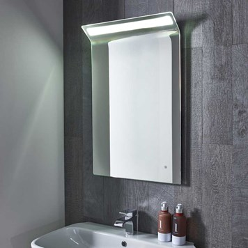 Roper Rhodes Renew Steam Free LED Illuminated Curved Mirror