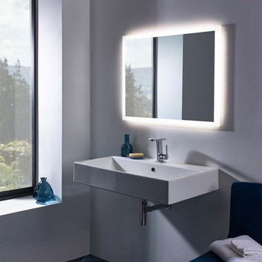 Roper Rhodes Intense Steam Free LED Illuminated Ultra Slim Mirror