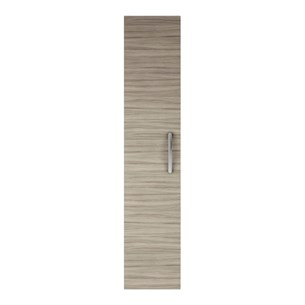 Drench Emily 1 Door Tall Floorstanding Storage Cupboard - Driftwood