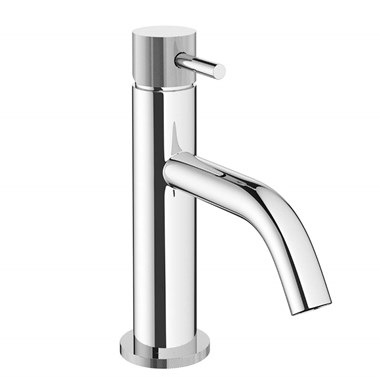 Crosswater MPRO Mono Basin Mixer with Knurled Detailing - Chrome