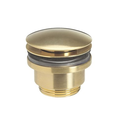 Crosswater MPRO Universal Basin Click Clack Waste - Brushed Brass