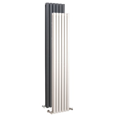 Premier Ricochet Vertical Double Panel Radiator  - 1750 x 354mm