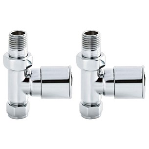 Ultra Modern Radiator Valves (Straight)