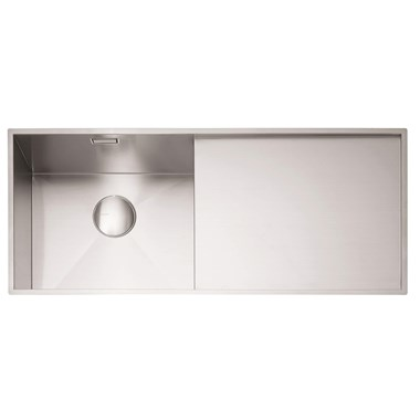 Caple Nada 1 Bowl Satin Stainless Steel Sink & Waste Kit - 1010 x 440mm