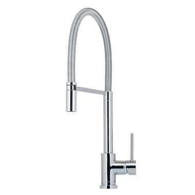 Caple Navitis Single Lever Mono Pull Out Spray Tap - Chrome