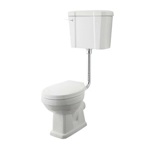 Kinglet Pan With Low Level Cistern