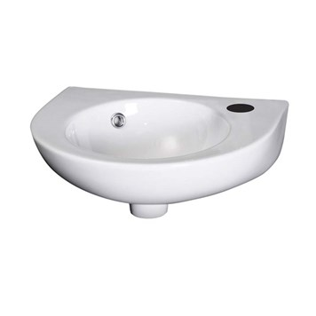 Loon 450mm Wall Hung Basin - 345mm Depth