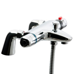 Vellamo Thermostatic Bath Shower Mixer