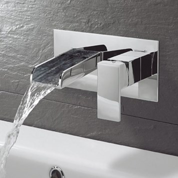 Sagittarius Niagara Wall Mounted Basin Mixer