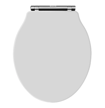 Junco White Wooden Soft Close Toilet Seat With Quick Release